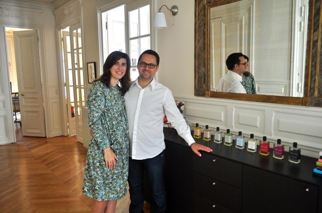 Sylvie et Christophe en juillet 2012