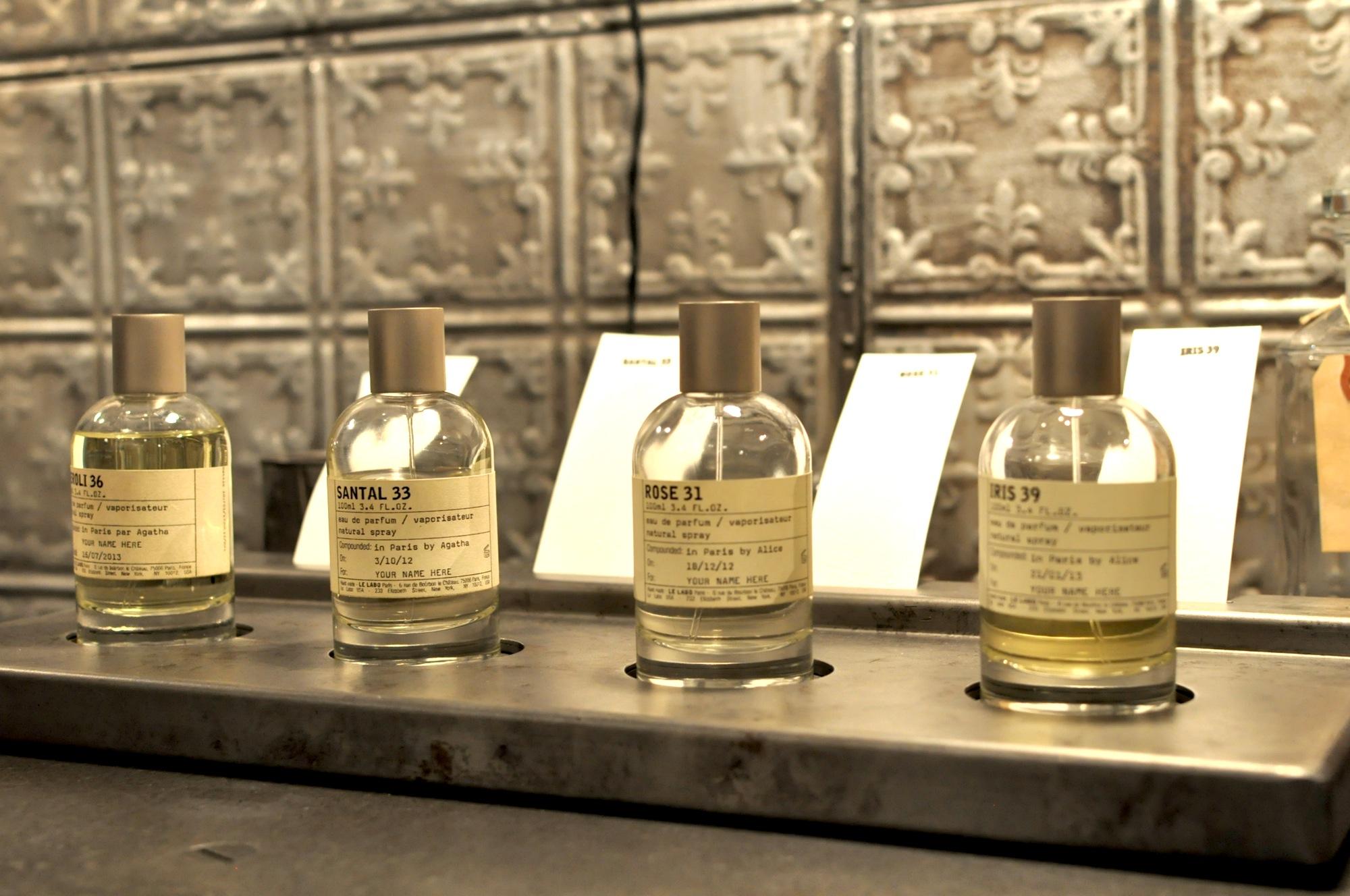 Caron perfume store new york