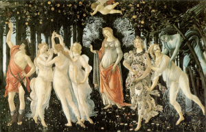 The Allegory of Spring by Botticelli