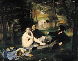 Le déjeuner sur l'herbe de Manet