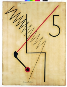 Francis Picabia. Tickets, 1922