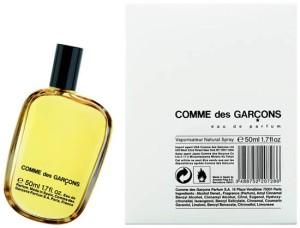 1993: le premier parfum, Comme des Garçons